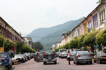 kuala kubu bahru town