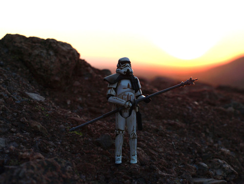 Sandtrooper 2 on Cambelback Mountain
