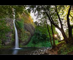 Horsetail Falls - HDR (David Gn Photography) Tags: oregon portland waterfalls pacificnorthwest pdx hdr horsetailfalls photomatix sigma1020mmf35exdchsm canoneosrebelt1i