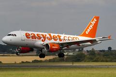 G-EZBD - Easyjet - Airbus A319-111 (A319) - Luton - 090818 - Steven Gray - IMG_9209