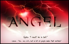 Angel Fan (J.Doyon Photography) Tags: angel photoshop poster logo creation fanart josswhedon davidboreanaz creations tvseries