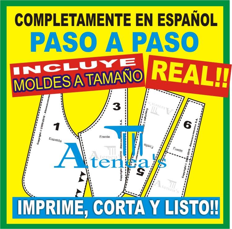 ... NATURAL listos para imprimir y crear!! y todoexplicado en castellano