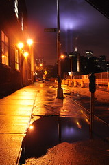 New Dock Street (SpecialKRB) Tags: newyork brooklyn worldtradecenter reflect fultonferrylanding eastriver twintowers gothamist lowermanhattan memoriallights 8thanniversary 91109 karenblumberg specialkrb