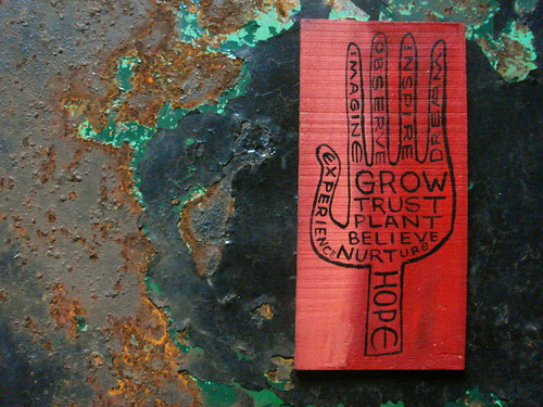 grow and trust by denise carbonell, on Flickr