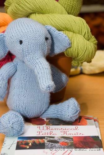 Large Elephant Knitting Pattern : Knit Elephant Pattern