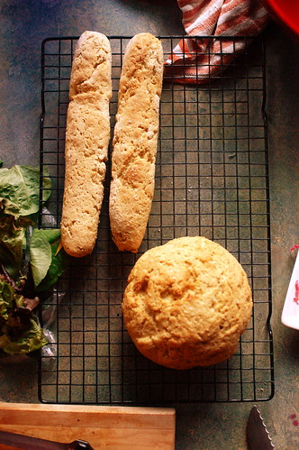 gluten-free bread for the BLT