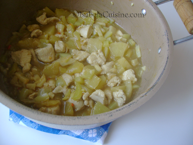 Pineapple Chicken Oriental