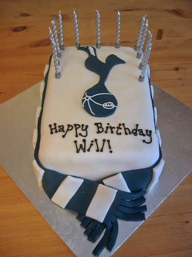 Tottenham Hotspurs Beautiful Birthday Cakes