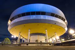 Duluth Night: Public Library UFO (fivesixzero) Tags: longexposure minnesota insomnia duluth