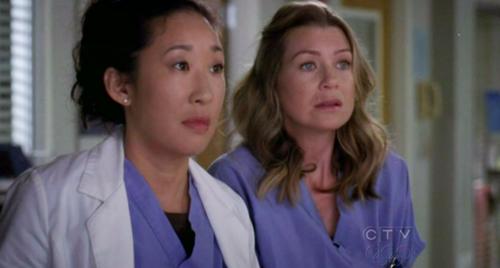 Grey's Anatomy Meredith Cristina
