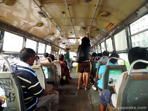 Bangkok Day 1 - Boarded local bus