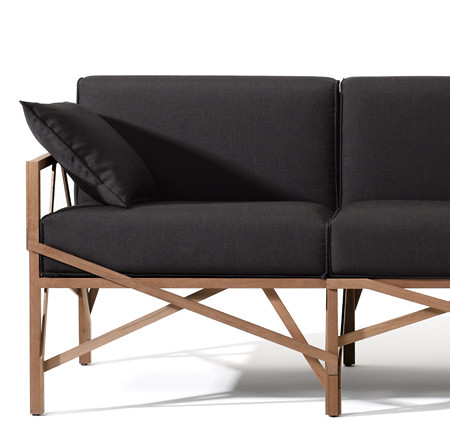 Allumette sofa, Sofa Furniture, chair