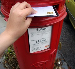 206 of 365 (princess5exyface) Tags: selfportrait mailbox hand post mail stamp letter postbox letterbox 365 posting 365days