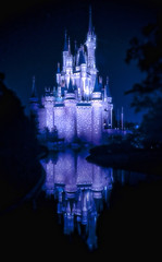 Classic - Cinderella Castle...The Castle of Dreams (EddyMixx) Tags: longexposure nightphotography castle classic night reflections nikon magic disney disneyworld dreams imagination cinderella symbols wdw waltdisney mainstreetusa uwa centerpieces cinderellacastle ultrawideangle wishuponastar nikond90 thechallengefactory tokina1116mm disneyphotochallengewinner