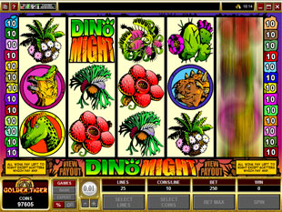 Dino Might slot game online review