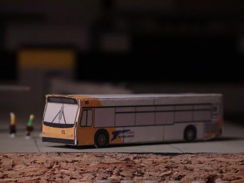 Mini Airport Diorama (Bus Close-up)