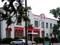 restored train depot, Bay St. Louis, MS (by: Transportation Enhancements Clearinghouse)