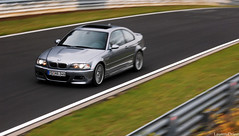 M3 E46. (Laurens Driest) Tags: germany photography nikon sigma automotive bmw m3 panning laurens circuit coupe supercar zoomlens e46 nordschleife 70300 nurburgring adenau d40 driest