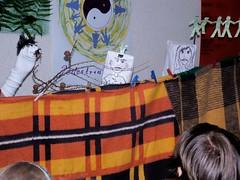Puppet Theater , Opolnica WSJ Camp ??.08.2006 (szogun000) Tags: camp people art fun holidays theater fuji play theatre poland polska 2006 puppets finepix fujifilm selfmade wsj teat pupet s3500 lowersilesia dolnolskie dolnylsk languagecamp opolnica