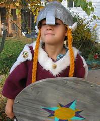 Proud Viking Chick Warrior