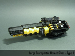 Heavy Transporter Hornet Class - Type II (crises_crs) Tags: ship lego space micro transporter lugpol