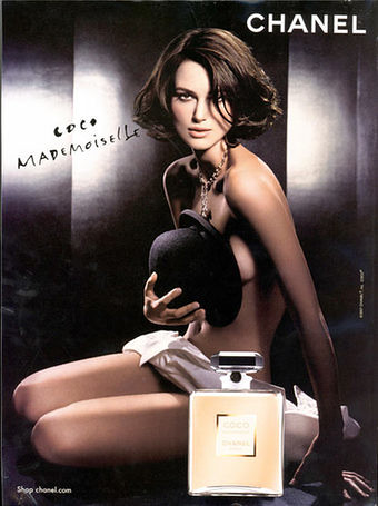 keira knightley chanel poster. Keira Knightly Chanel Poster