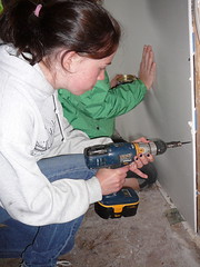 building a bedroom and bathroom for children
