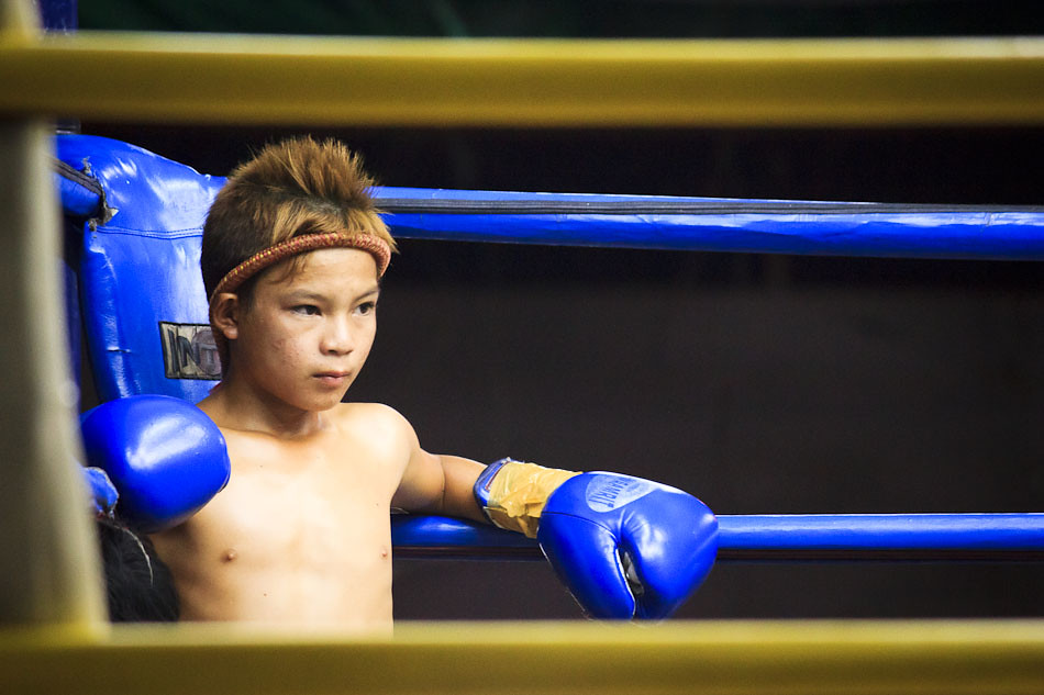 Travel Photo of the Week: Young Muay Thai Boxer in Chiang Mai, Thailand