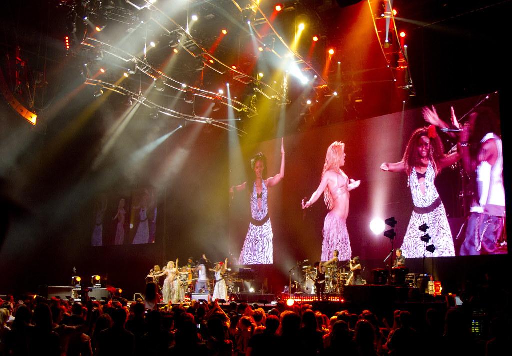Shakira @Skk Arena 22/05/2011