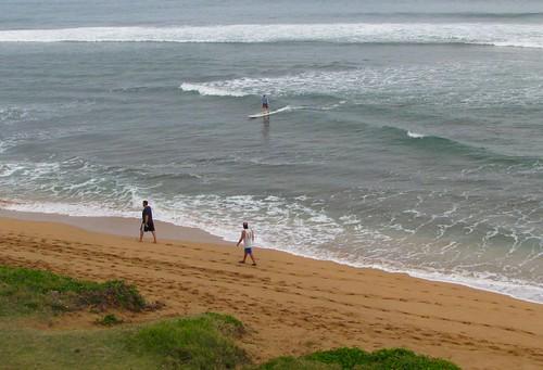 morning surfing