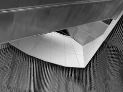 Untitled (Clothaire Legnidu) Tags: fuji x20 paris philharmonie villette parc park formes shapes noiretblanc nb bw bn