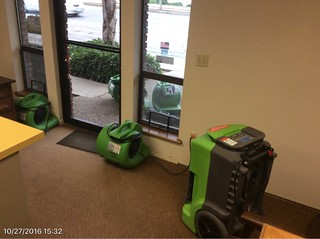 Gridley Insurance Office Water Damage
