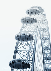 Viewing Pods On The London Eye (Peter Greenway) Tags: pod londonbridge dayout ferriswheel capsule streetphotography millenniumwheel bigwheel westminster viewingcapsule viewingpod londoneye london