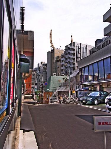Back street in Roppongi