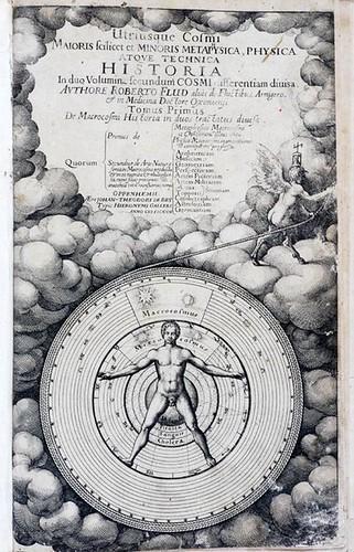 Robert Fludd, Utriusque cosmi, 1617