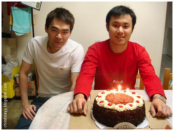 My boy's birthday celebration