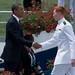 Nate Thomson - Presidential handshake