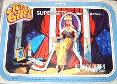 BEAUTY QUEEN  SUPER SETBOX (Virgin-Archer) Tags: barbie pippa actionman uneeda actiongirl dollikin palitoy teenagefashiondoll