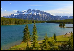 "Mt Rundle at Two Jack Lake, Banff Nat. Park. Alberta, Canada (Joalhi ""Back in Miami"") Tags: canada banffnationalpark mtrundle twojacklake platinumphoto"