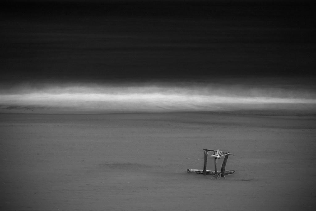 Drifting ashore