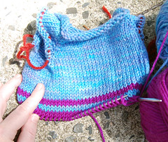 baby test knit 1