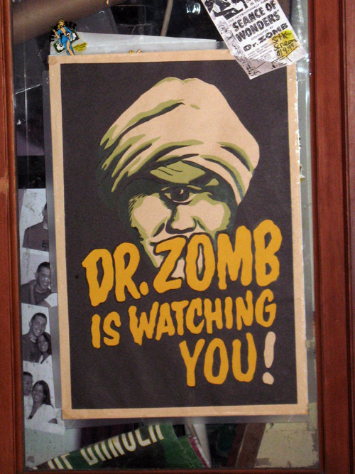 Dr. Zomb is Watching You