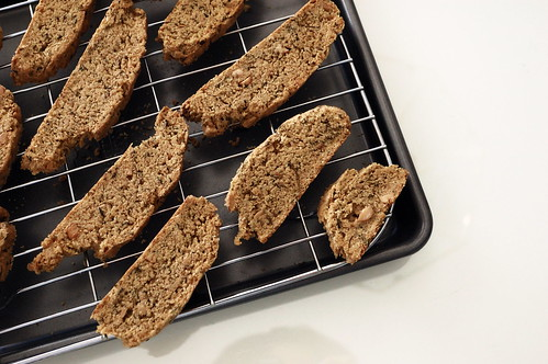 At Home: Savory Lime-Cilantro-Peanut Biscotti