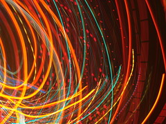 the movement of my heart (redjoe) Tags: nyc newyorkcity light lightpainting blur color colors night manhattan cab taxi number numbers meter fare tracers abigfave redjoe rubyphotographer joehorvath
