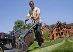 Kevin (tatko964) Tags: lawn mower gardener