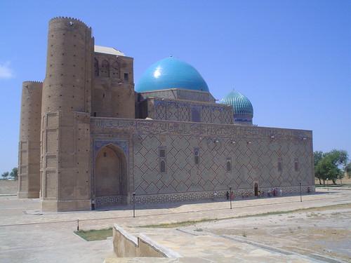 Mausoléu de Khoja Ahmed Yasawi em Turkistan Cazaquistão