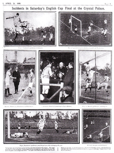 1909 FA Cup Final Report