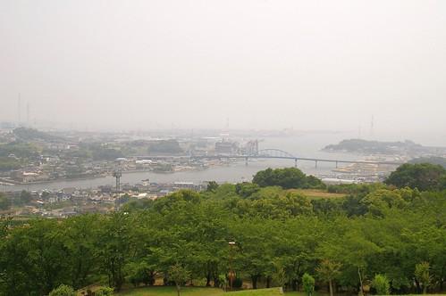 円通寺公園からの眺め