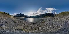 Kölnbrein Dam Reservoir (Markus Ortner) Tags: panorama dam pano 360 malta carinthia equirectangular autopanopro nodalninja kölnbreinsperre