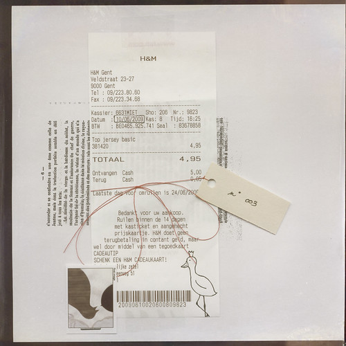 De anatomie van een rekening / The anatomy of a shopping receipt